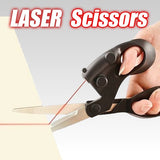 Laser guided scissors - abrandly