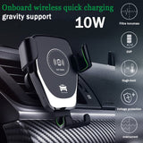 Automatic Clamping Fast Charging Phone Holder - abrandly