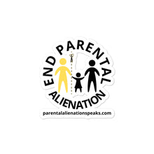 Load image into Gallery viewer, End Parental Alienation Bubble-free stickers - Parental Alienation Speaks Store