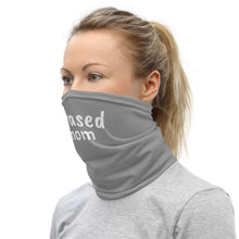 Load image into Gallery viewer, Grey #Erased MOM Mask/Neck Gaiter
