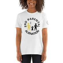 Load image into Gallery viewer, End Parental Alienation Short-Sleeve Unisex T-Shirt - Parental Alienation Speaks Store