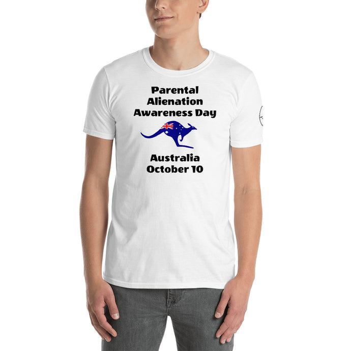 Australia Kangaroo Parental Alienation Awareness Day White & Gray - Parental Alienation Speaks Store