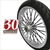Fat 30 Spoke Motorcycle Wheels