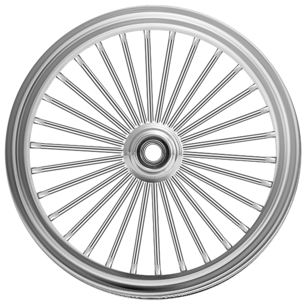 "Fat 30-Round-02's"" Fat 30-Spoke Motorcycle Wheel"