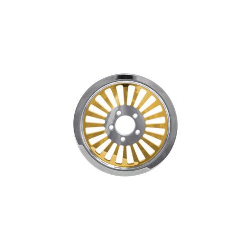 Klassic Pulley - 66-tooth @ 1.5 - Brass