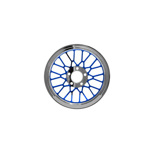 Mesh Pulley - Lolly Pop Blue