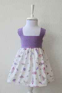 Girls Space Themed Dress
