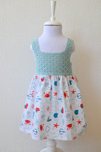 Load image into Gallery viewer, Happy Crab Summer Dress