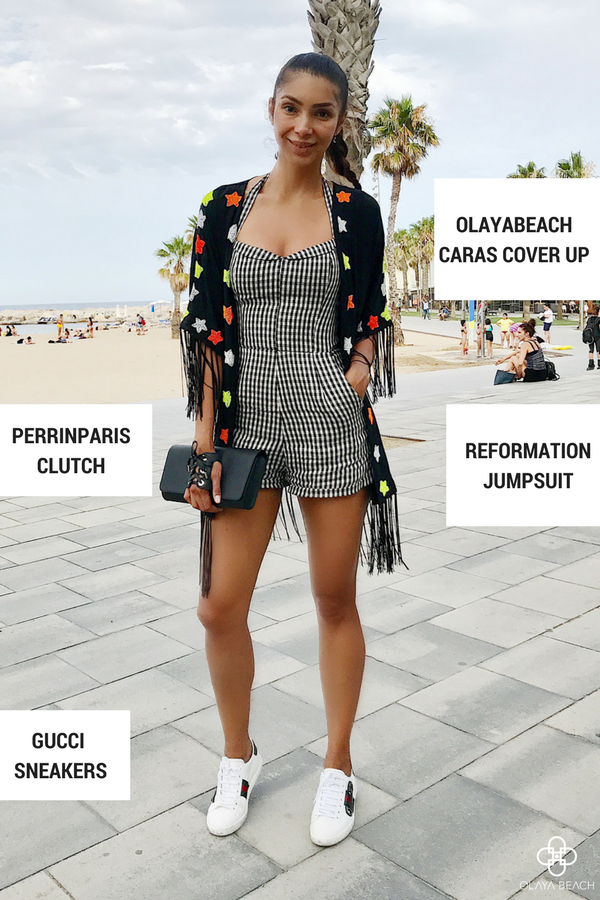 Style pick of the week- Caras cover up by Olaya Beach