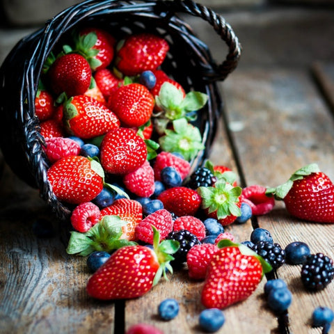 berries for perfect diet