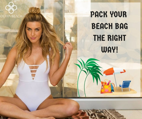 pack your beach bag right way
