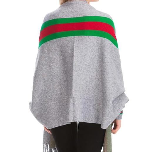 Throw it On Stripe |  Poncho