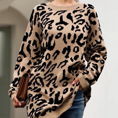 Call Me Wild Leopard | Sweater