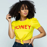 Honey Love Crop Tee | Top