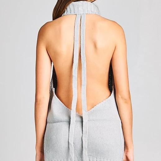 Always Flawless Open Back | Sweater