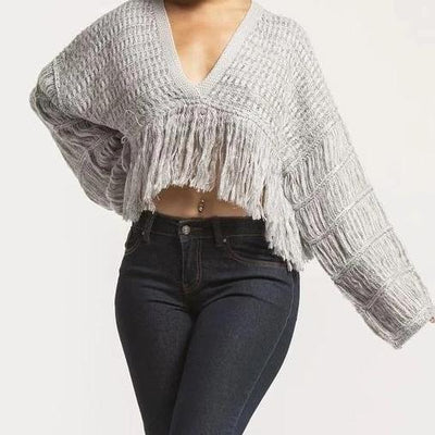 Finding Love Tassel | Sweater