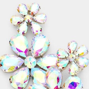 Crystal Flower | Earrings