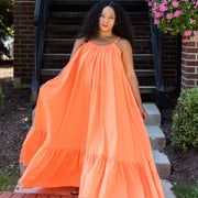 You Better Glow Girl Orange | Dress