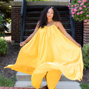 You Better Glow Girl Yellow | Dress
