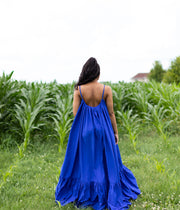 You Better Glow Girl Royal Blue | Dress