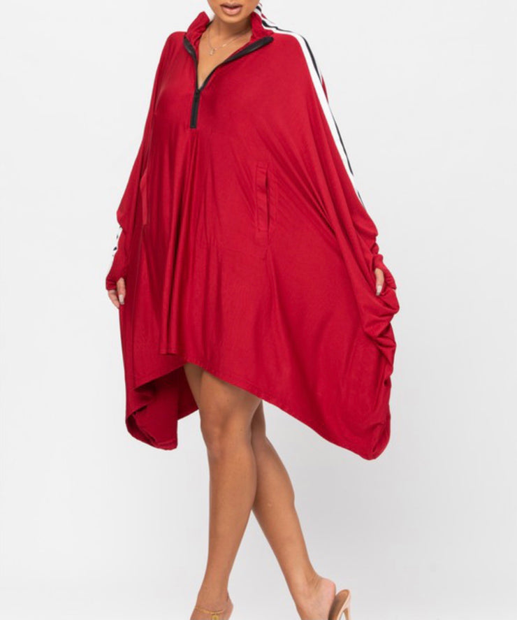 Fly Girl | Cape Dress