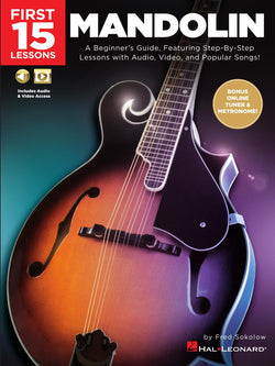 First 15 Lessons – Mandolin