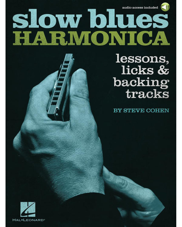Slow Blues Harmonica - Lessons, Licks & Backing Tracks