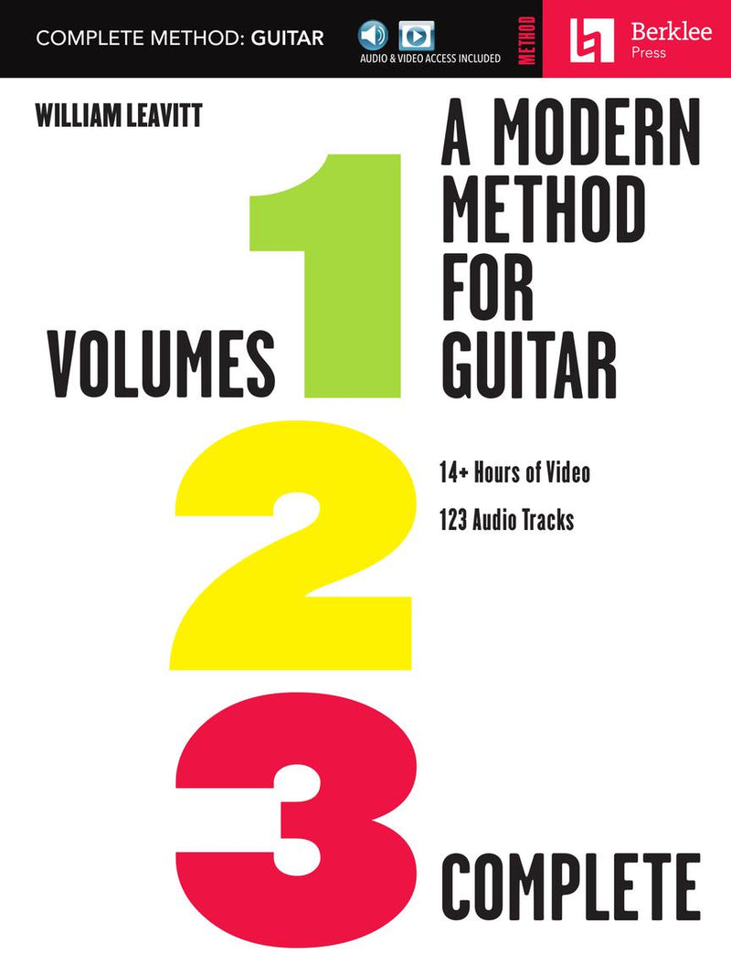 A Modern Method for Guitar - Complete Method