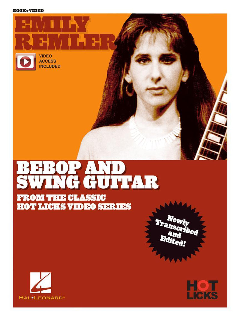 Emily Remler Bebop and Swing Guitar - From the Classic Hot Licks Video Series