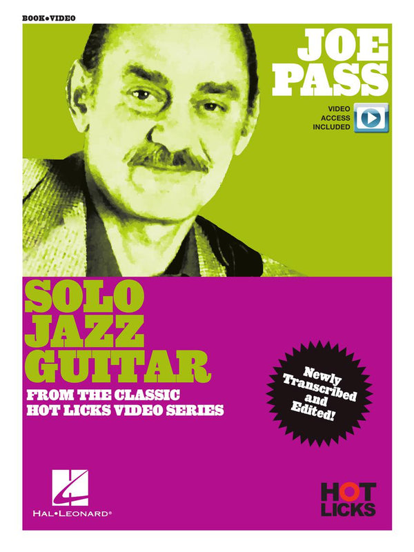 Joe Pass Solo Jazz Guitar - From the Classic Hot Licks Video Series