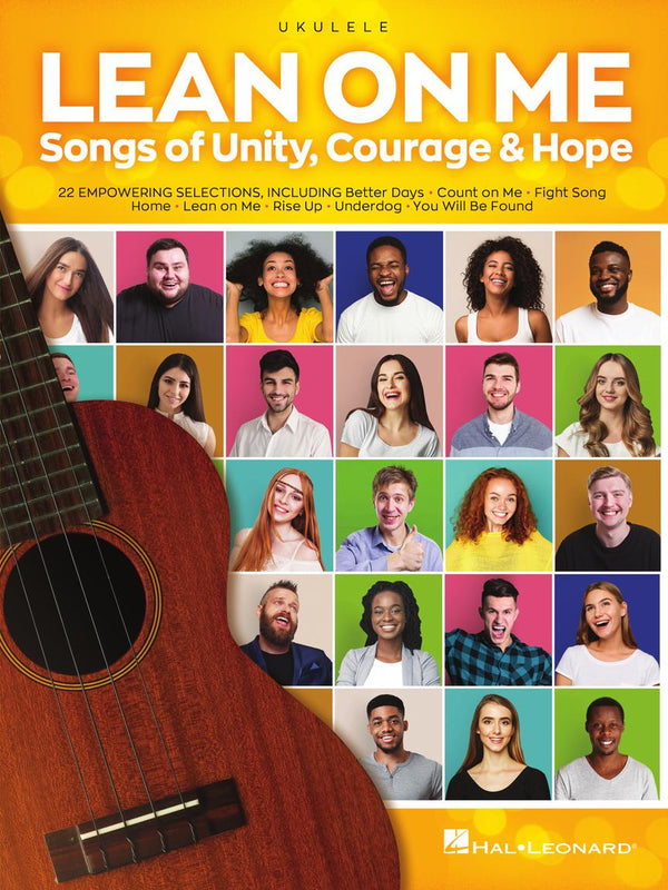 Lean On Me Songs of Unity, Courage & Hope - Ukulele
