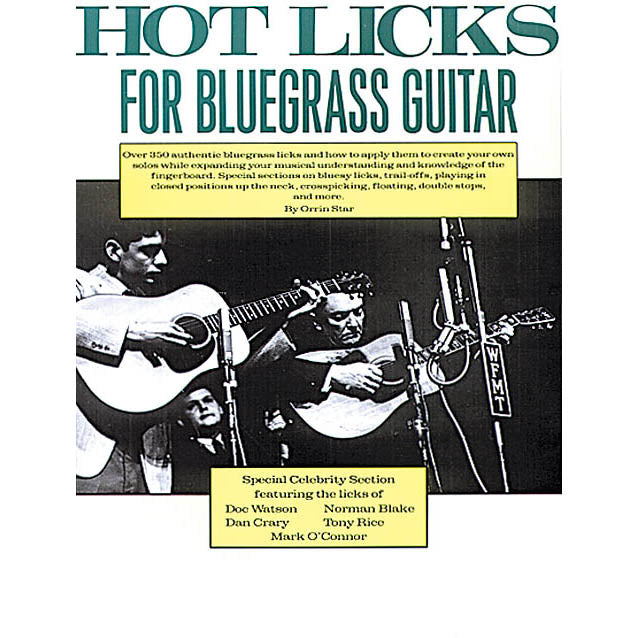 Hot Licks for Bluegrass Guitar