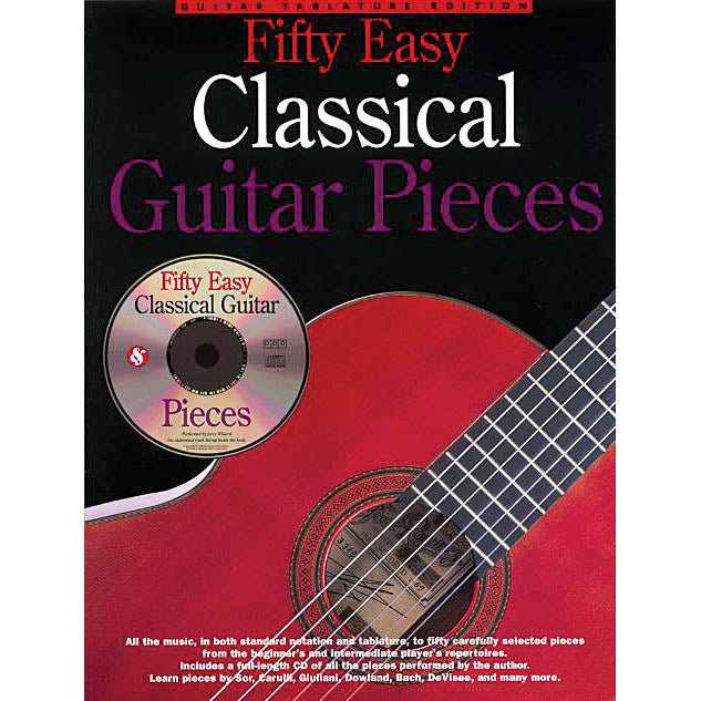 50 Easy Classical Guitar Pieces