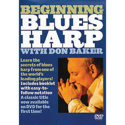 DVD - Beginning Blues Harp