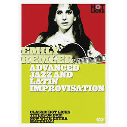 DVD - Emily Remler - Advanced Jazz and Latin Improvisation