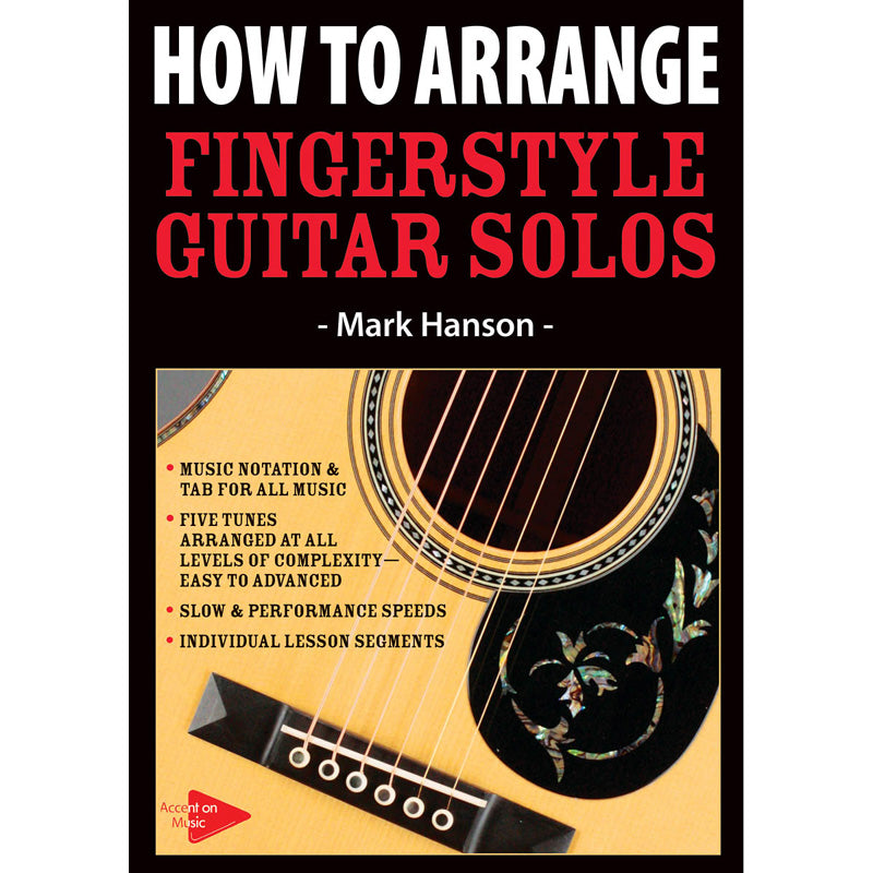 DVD - How to Arrange Fingerstyle Guitar Solos