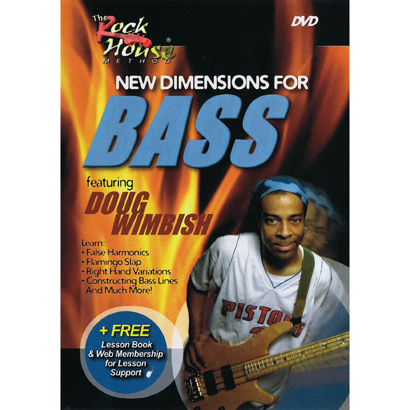 DVD - New Dimensions for Bass