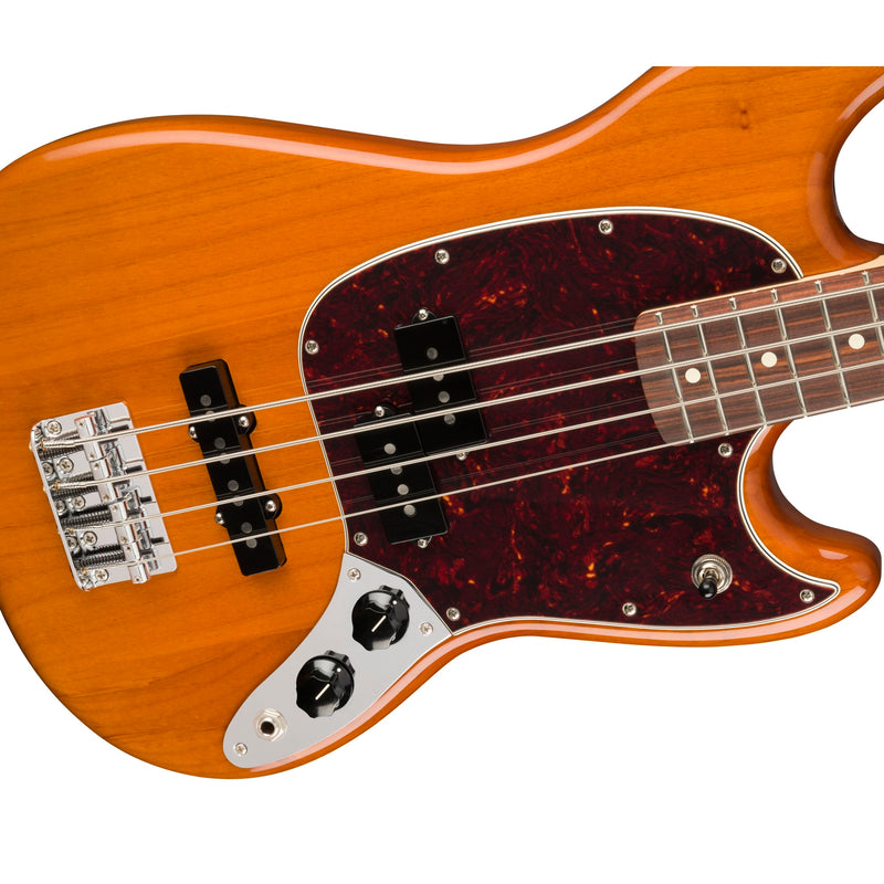 Fender Player Mustang Bass PJ, Aged Natural