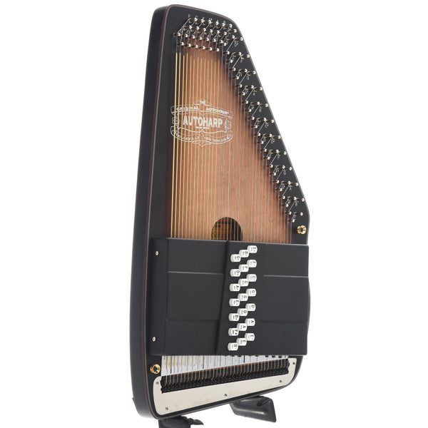 Oscar Schmidt OS11021AE Americana Electric Autoharp, with Chord Bars for E and A