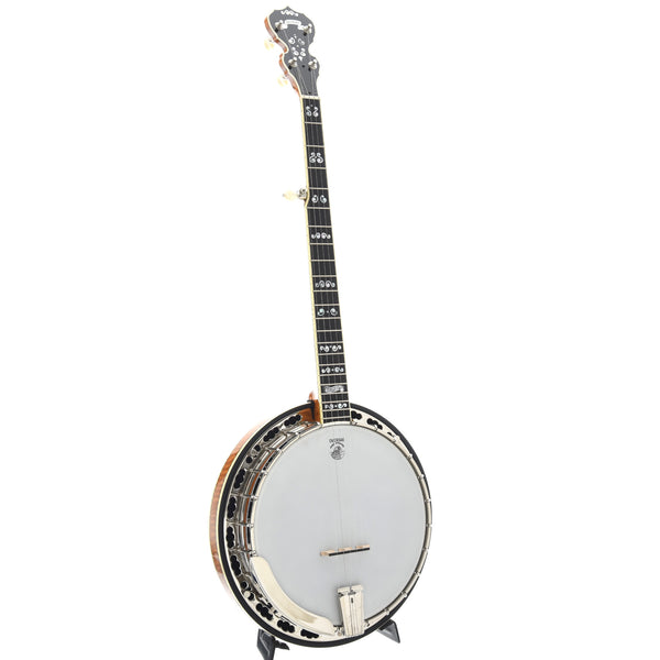Deering Calico Banjo & Case, Honey Finish