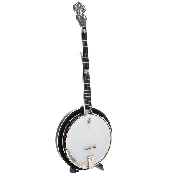 Deering John Hartford Banjo with Pop-On Resonator & Case