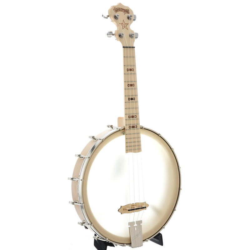 "Deering Goodtime Banjo Ukulele, Tenor Scale (17"") with Pickup"