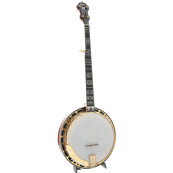 DP Hopkins Maple Golden Deluxe Banjo & Case