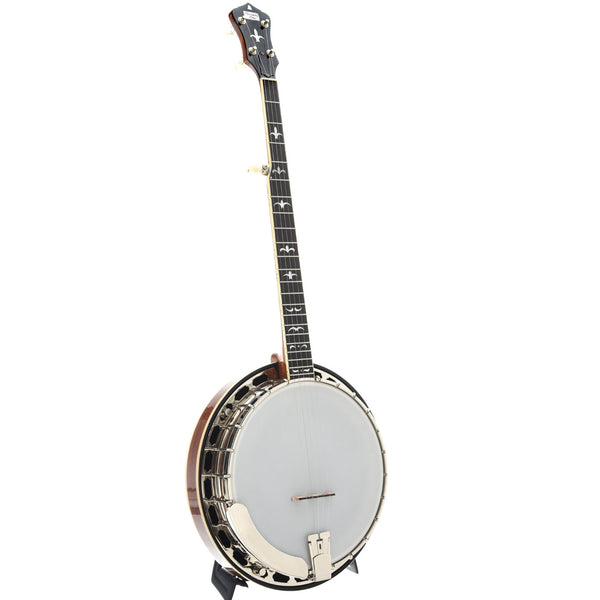 Recording King Madison Deluxe Resonator Banjo, Mahogany