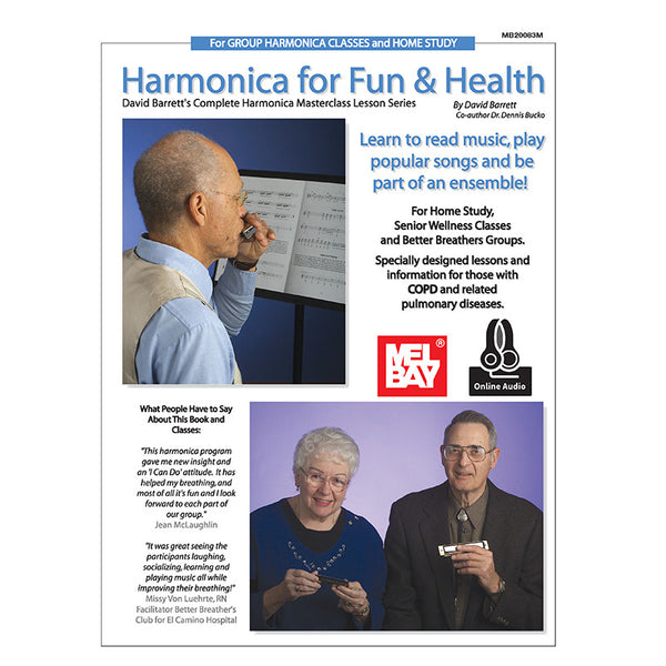 HARMONICA FOR FUN AND HEALTH