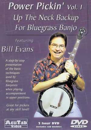 DVD - Power Pickin', Vol. 1: Up the Neck Backup for Bluegrass Banjo