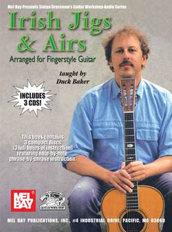 Irish Jigs & Airs Arranged for Fingerstyle Guitar