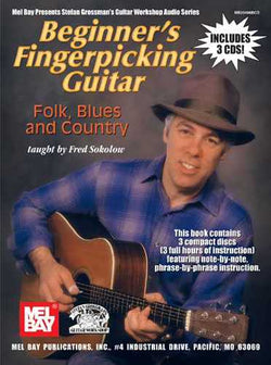 Beginner's Fingerpicking Guitar: Folk, Blues and Country