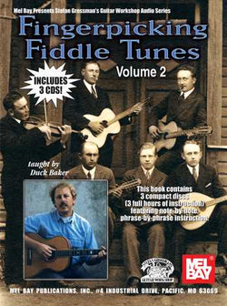 Fingerpicking Fiddle Tunes, Vol. 2