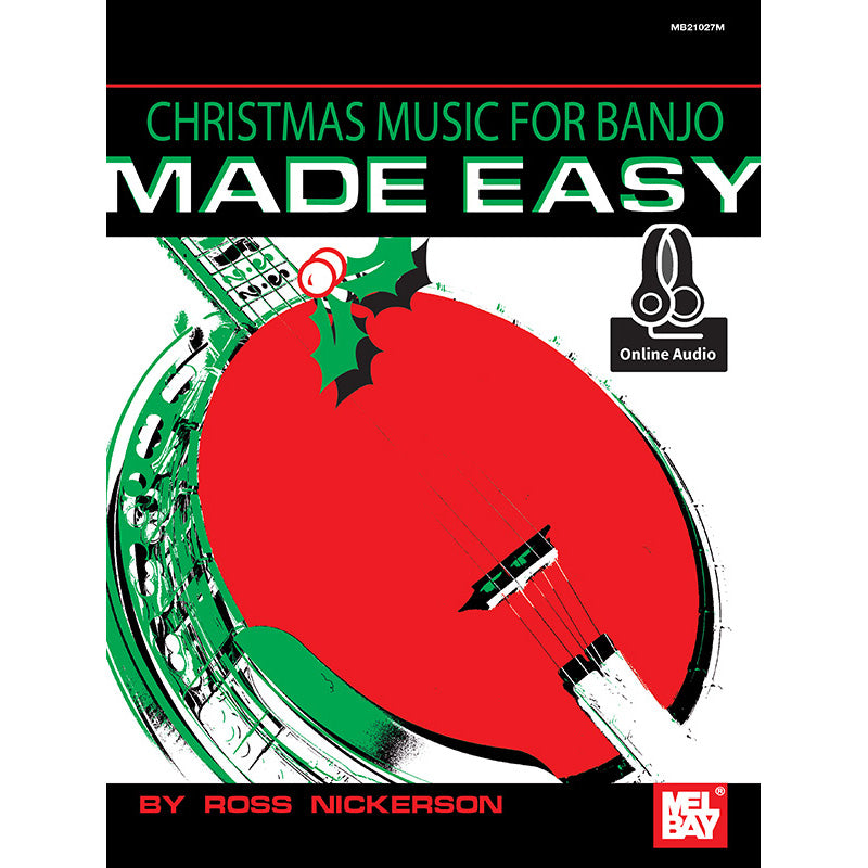 Christmas Music for Banjo Made Easy
